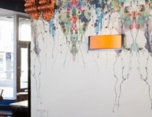 Timorous Beasties wide wallpaper