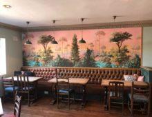 The Royal Charlton Kings Cheltenham Wallpaper hanging