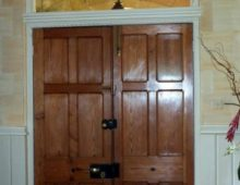 Entrance hall door way.